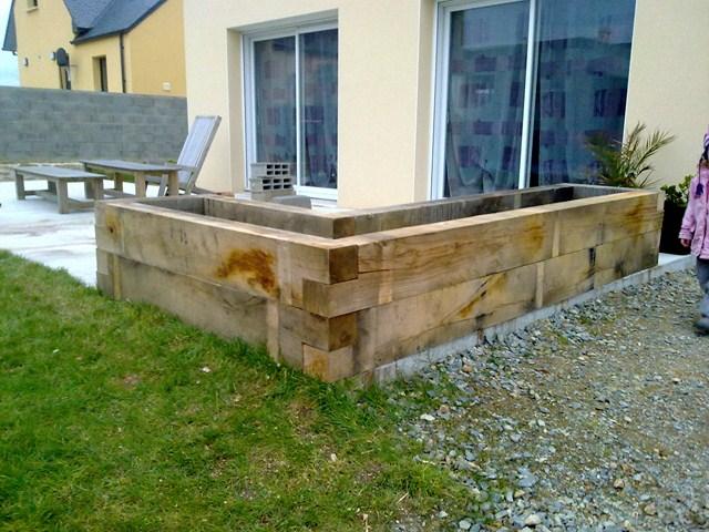 Jardiniere Pour Terrasse Copain Des Copeaux